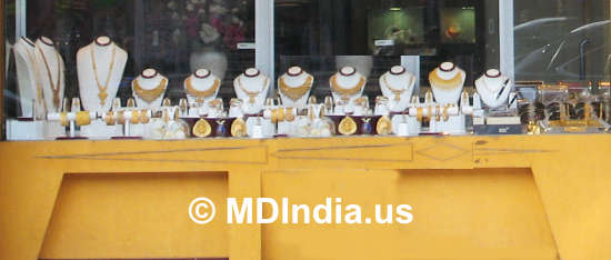 Maryland Indian Gold Jewelry Stores &Copy; MDIndia.us