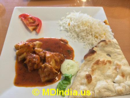 Bethesda Curry Kitchen Chicken Curry © MDIndia.us