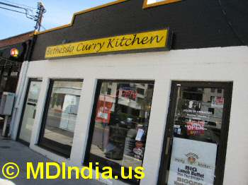 Bethesda Curry Kitchen indian restaurant