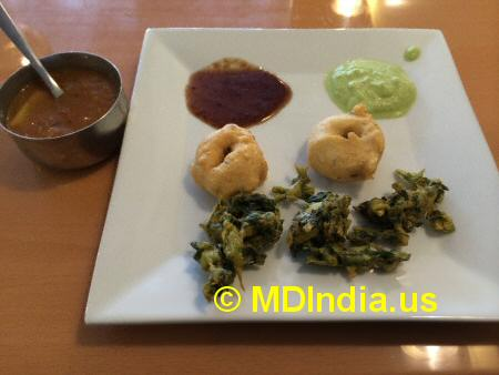 Bethesda Curry Kitchen Appetizers © MDIndia.us