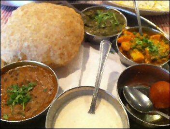 India Rasoi Veg Thali
