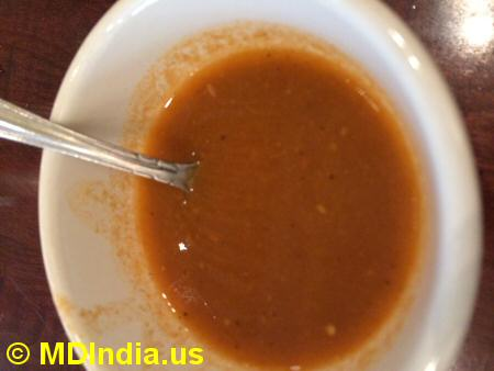 Spice Xing Rockville Soup © MDIndia.us