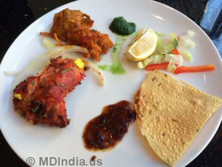 Tandoori Nights Bethesda Appetizers © MDIndia.us