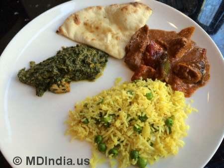 Tandoori Nights Bethesda Chicken Tikka Masala © MDIndia.us
