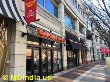 Tandoori Nights indian restaurant
