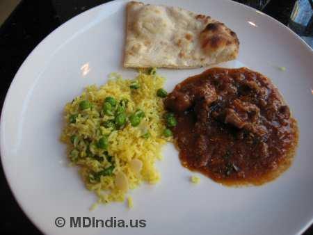 Tandoori Nights Bethesda Goat Curry © MDIndia.us