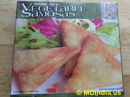 Trader Joe's Annapolis Vegetable Samosa